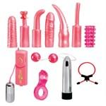 Универсальный набор для анально-вагинальной стимуляции Dirty Dozen - фото 1509272