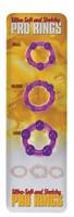 Набор из 3 стимулирующих эрекционных колец - фото 689772