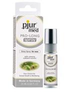 Пролонгирующий спрей с экстрактом дуба и пантенолом pjur MED Pro-long Spray - 20 мл. - фото 1142325
