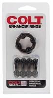 Набор из 2 дымчатых колец на пенис COLT Enhancer Rings - фото 239700