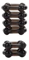 Набор из 2 дымчатых колец на пенис COLT Enhancer Rings - фото 239699