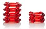 Набор из двух красных эрекционных колец COLT Enhancer Rings - фото 313969