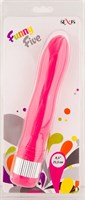 Розовый водонепроницаемый вибратор - 21,5 см. - фото 314003