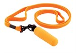 Оранжевая вибропулька с ремешком на шею - 6 см. - фото 206134