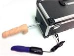 Секс-машина с 2 сменными насадками и вибратором - фото 6243
