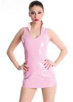 Платье с воротником-стойкой и шнуровкой сзади - фото 700588