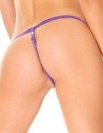 Женский страпон с нейлоновыми трусиками Classic Strap-On and Harness - 15 см. - фото 239915