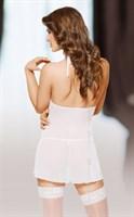 Полупрозрачная сорочка Marilyn в комплекте с трусиками-стринг - фото 1142700