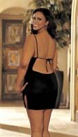 Мини-платье на тонких бретельках - фото 1234102