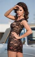 Кружевная сорочка-платье на замочке Linley - фото 239988