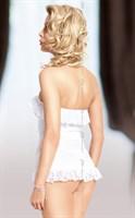Корсет без бретелек Iria с кружевными оборками - фото 514638