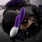 Вибромассажер Ina 2 фиолетового цвета - 20 см. - фото 206682