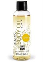 Съедобное массажное масло с ароматом ванили - 100 мл. - фото 293375