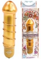 Янтарный вибратор из стекла REFLECTIONS LOVE - фото 238733