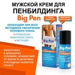 Крем Big Pen для увеличения полового члена - 50 гр. - фото 240294
