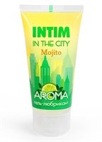 Увлажняющий лубрикант Intim Aroma с ароматом мохито - 60 гр. - фото 6558