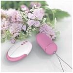 Розовое виброяйцо Remote Control Egg с пультом ДУ - фото 131973