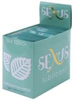 Набор из 50 пробников увлажняющей гель-смазки с ароматом мяты Silk Touch Mint по 6 мл. каждый - фото 206980