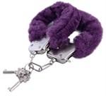 Фиолетовые наручники - фото 822078