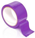 Фиолетовая самоклеющаяся лента для связывания Pleasure Tape - 10,6 м. - фото 7344