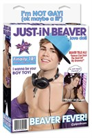 Надувная кукла Just-In Beaver - фото 294113