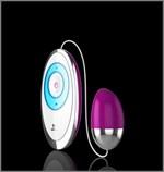 Сиреневое сенсорное виброяйцо Egg Touch - фото 239914