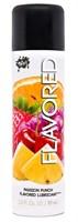Лубрикант Wet Flavored Passion Punch с ароматом фруктов - 89 мл. - фото 7284