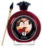 Декоративная крем-краска для тела с ароматом шампанского и клубники - фото 1189408