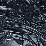 Черная виниловая ткань-простынь для эротических игр - фото 7326