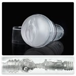 Прозрачный мастурбатор-вагина Fleshlight - Ice Lady Crystal - фото 176899