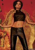 Кожаный топ-американка Dynasty - фото 207636