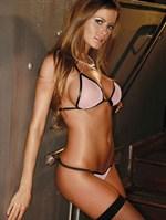 Полупрозрачный лиф-бикини из сеточки - фото 7219