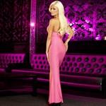 Вечернее розовое платье в пол от Hustler - фото 1648576