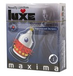 Презерватив LUXE Maxima  Королевский экспресс  - 1 шт. - фото 7643