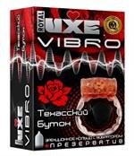 Эрекционное кольцо LUXE VIBRO  Техасский бутон  - фото 706475