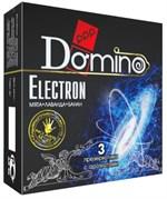 Ароматизированные презервативы Domino Electron - 3 шт. - фото 207915