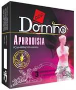 Ароматизированные презервативы Domino Aphrodisia - 3 шт. - фото 7417