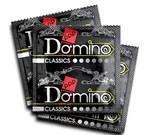 Ароматизированные презервативы Domino  Земляника  - 3 шт. - фото 1144112