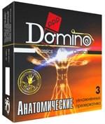 Презервативы анатомической формы Domino  Анатомические  - 3 шт. - фото 294707
