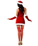 Новогодний костюм снегурочки - фото 208091