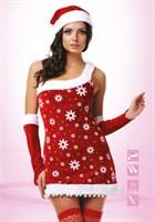 Новогодний костюм снегурочки - фото 208092