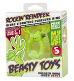 Вибронасадка Beasty Toys Rockin Reindeer в форме оленя - фото 519639