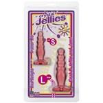 Набор из двух розовых анальных втулок Crystal Jellies Anal Trainer Kit - фото 7612