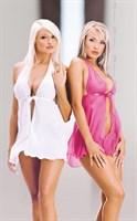 Сорочка Livia с трусиками-стринг в комплекте - фото 210344
