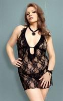 Сорочка Carmen из цветочного кружева - фото 520594