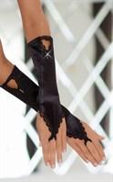 Перчатки с петелькой на пальчик - фото 7875