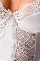 Корсаж Blanchet с озорными оборками и кружевами - фото 208495