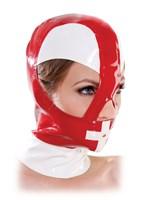 Красно-белый шлем на молнии - фото 1144730