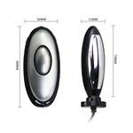 Анальная пробка с электростимуляцией E-passion Plug - 7,4 см. - фото 1144943