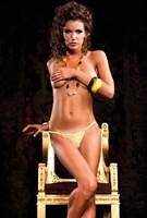Желтые трусики-стринги Barbie - фото 521812